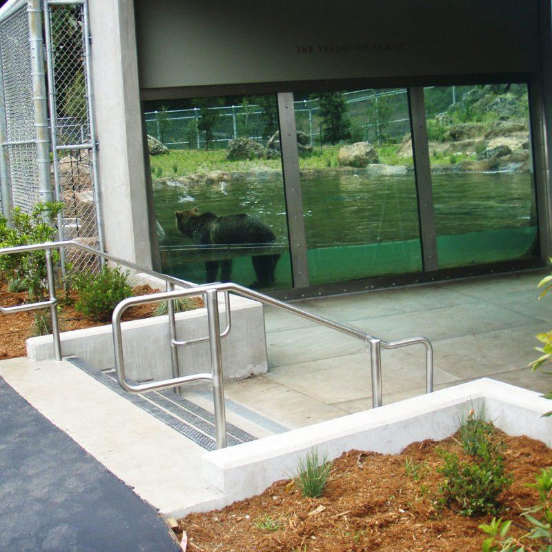 Landscape Project at San Francisco Zoo